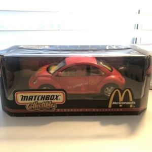 Matchbox VW Beetle McDonald's Collectible Car